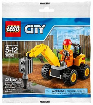 LEGO 30312 City Demolition Driller Bag Set
