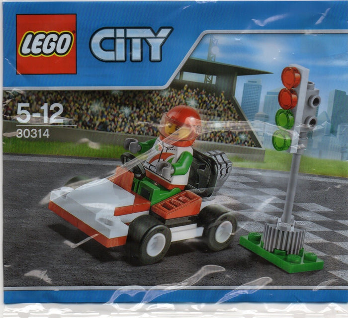 LEGO 30314 City Go-Kart Racer with Minifigure