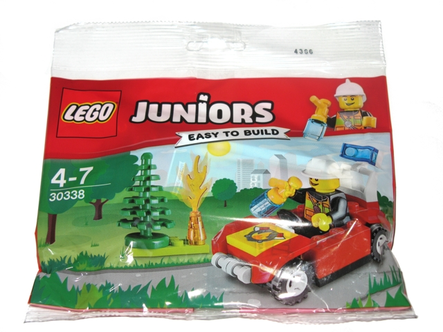 LEGO Polybag - Juniors Fire Car set 30338