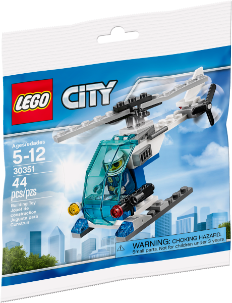 LEGO Polybag - Police Helicopter set 30351