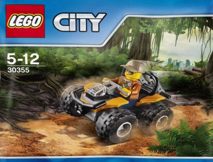LEGO 30355 City Jungle 30355 ATV Car with Minifigure