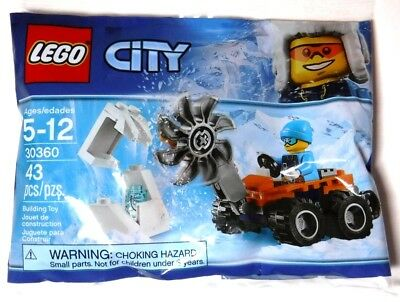LEGO Polybag - Arctic Ice Saw set 30360