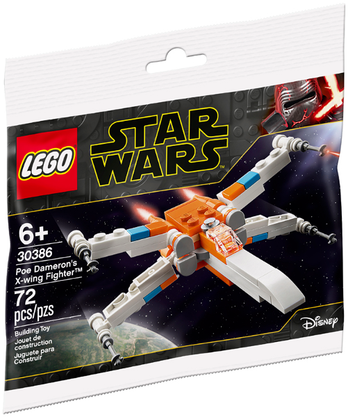 LEGO Polybag - Star Wars Episode 9: Poe Dameron's X-wing Fighter - Mini polybag 30386