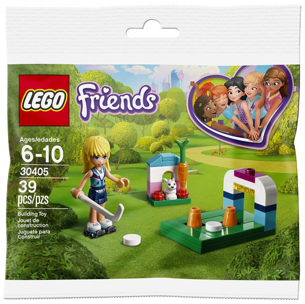 LEGO Polybag - Friend's Stephanie's Hockey Practice set 30405