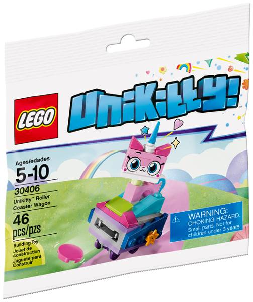 LEGO Polybag -  Unikitty Roller Coaster Wagon set 30406