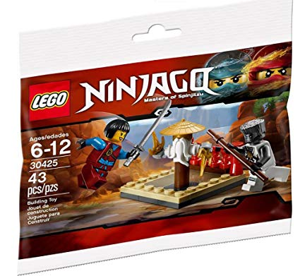 LEGO Polybag - Ninjago: Day of the Departed CRU Masters' Training Grounds set 30425