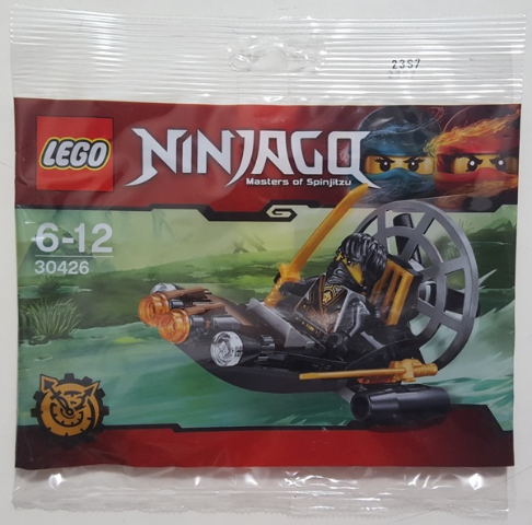 LEGO Polybag - Ninjago: The Hands of Time Stealthy Swamp Airboat set 30426