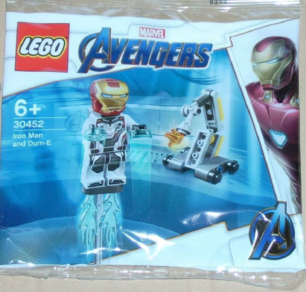 LEGO Polybag - Super Heroes: Avengers Endgame Iron Man and Dum-E set 30452
