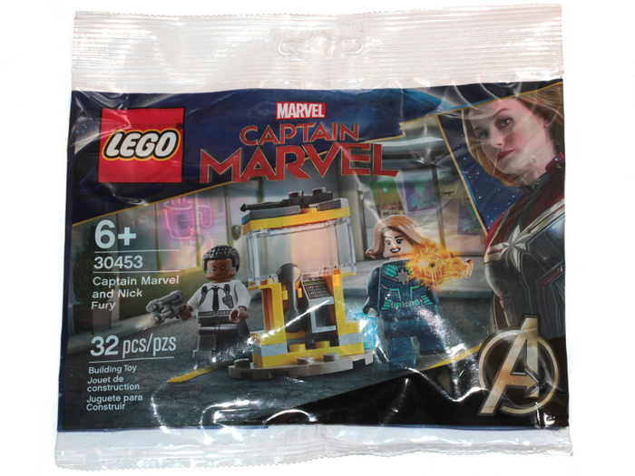LEGO 30453 Marvel Super Heroes Captain Marvel and Nick Fury Bag Set