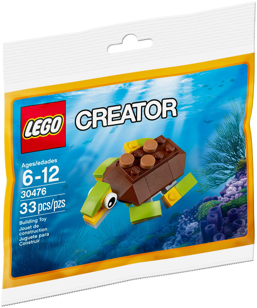 LEGO Polybag - Creator Happy Turtle set 30476