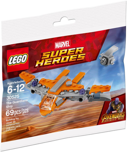 LEGO Polybag - Super Heroes: Avengers Infinity War The Guardians' Ship set 30525