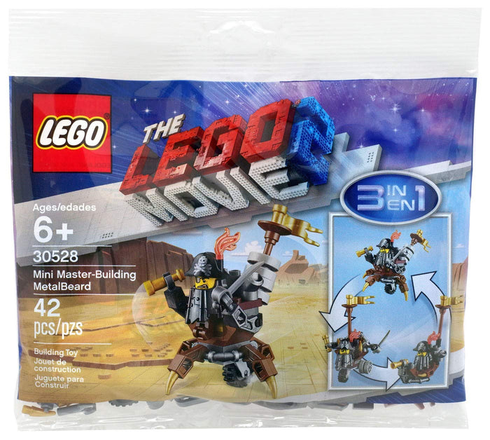 LEGO Polybag - The LEGO Movie 2 Mini Master Building MetalBeard set 30528