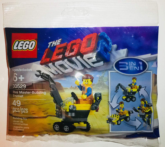 LEGO Polybag - The LEGO Movie 2 Mini Master-Building Emmet set 30529