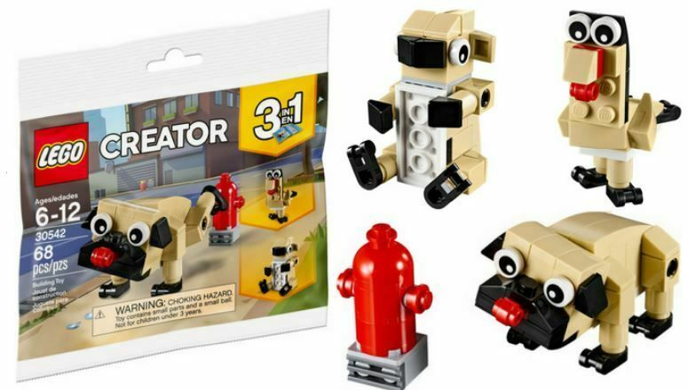 LEGO Polybag - Creator Cute Pug set 30542