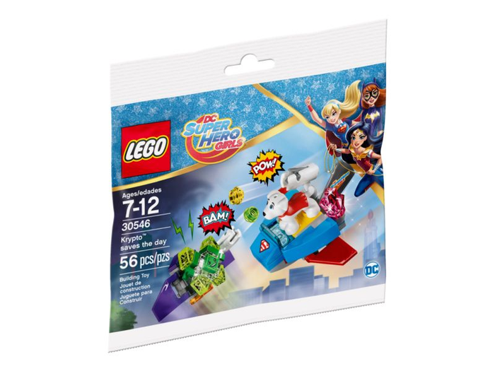 LEGO Polybag - DC Super Girls Krypto saves the day set 30546