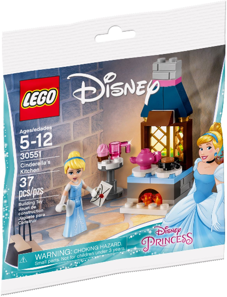 LEGO Polybag - Disney Princess Cinderella's Kitchen set 30551