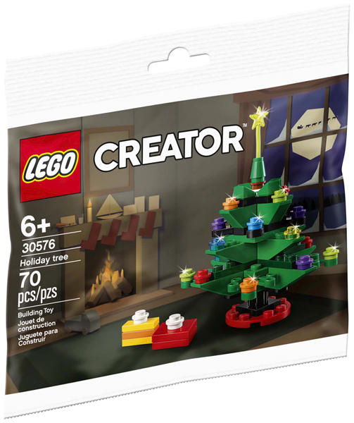 LEGO Polybag - Holiday & Event: Christmas: Holiday tree polybag 30576