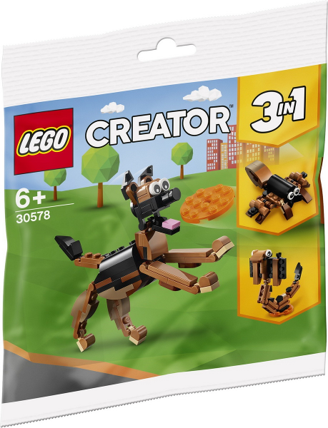 LEGO Polybag -  Creator: Basic Model: Creature: German Shepherd polybag 30578