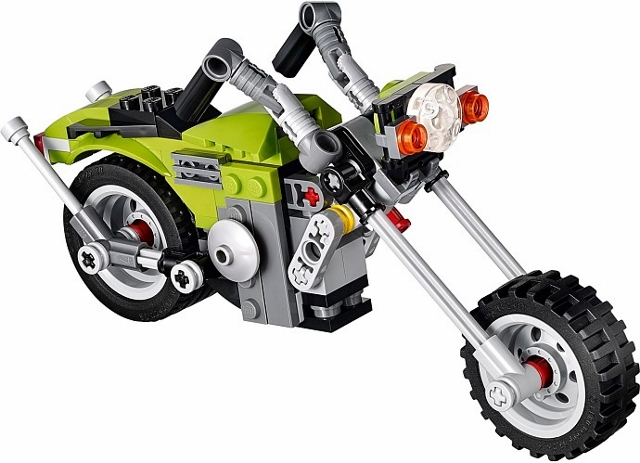 LEGO Creator: Model: Riding Cycle: Highway Cruiser 31018 - CEO Parker's LEGO Collection - Used LEGO Complete