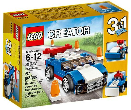 LEGO Creator: Basic Model: Blue Racer set 31027