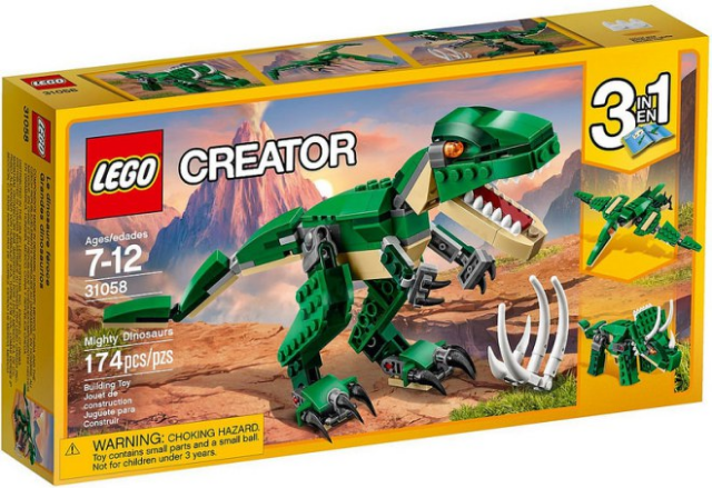 LEGO Creator Mighty Dinosaurs set 31058