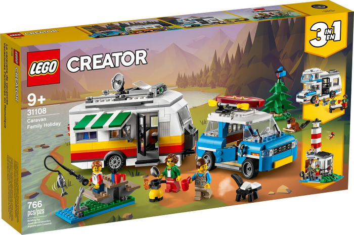 LEGO Creator Caravan Family Holiday set 31108