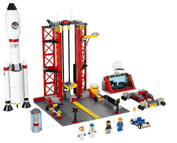 LEGO City: Space Center 3368 - CEO Parker's LEGO Collection - Used LEGO Complete