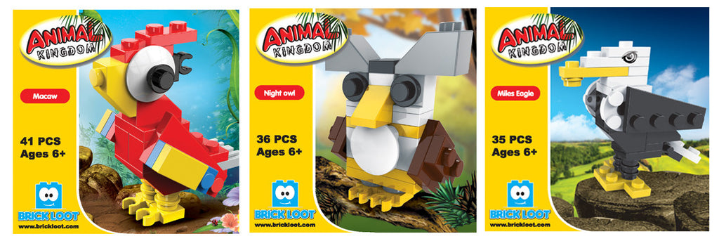 Brick-Loot-Animal-Brick-Sets-Included-In-Party-Favor-Head-Cases