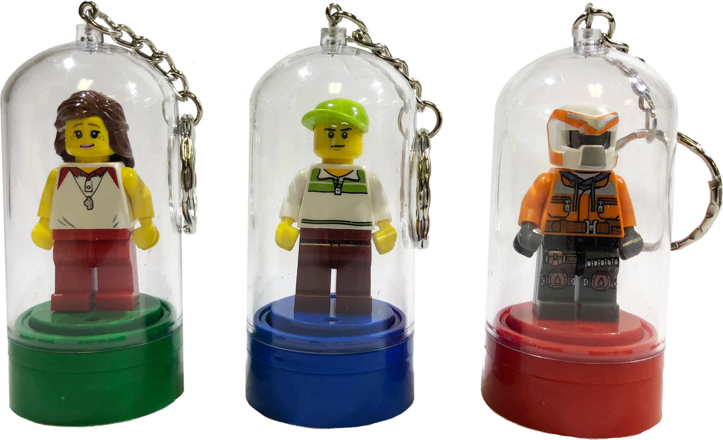 LEGO Minifigure Key Chains / Christmas Tree Ornaments