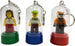 LEGO®-Minifigure-Key-Chains-Christmas-Tree-Ornaments-3-pack-with-minifigures-included-green-blue-red-sold-by-Brick-Loot