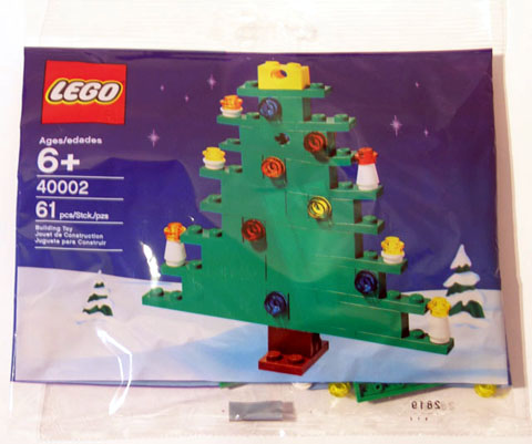 LEGO Polybag - Holiday Christmas Tree set 40002