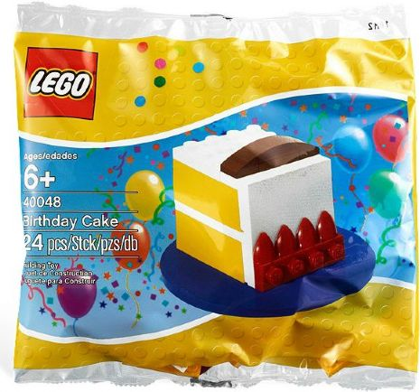 LEGO Polybag -  Holiday & Event: Birthday: Birthday Cake polybag 40048