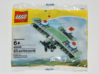LEGO Polybag -  Creator: Basic Model: Airport: Mini Sopwith Camel polybag 40049