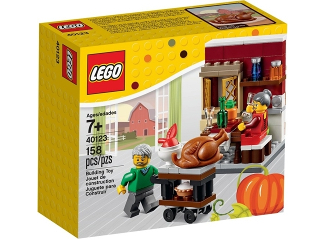 LEGO Holiday Thanksgiving Feast 40123  - CEO Parker's LEGO Collection - Brand NEW Sealed