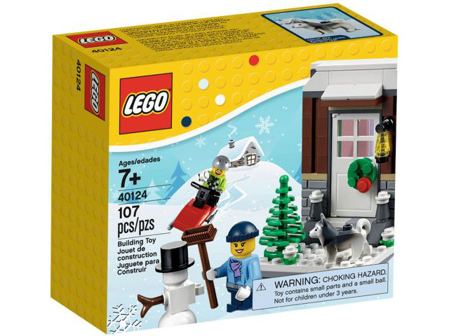 LEGO Holiday Christmas Winter Fun set 40124