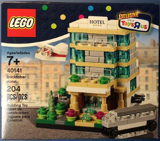 LEGO Toys R' Us Bricktober Exclusive Hotel set 40141