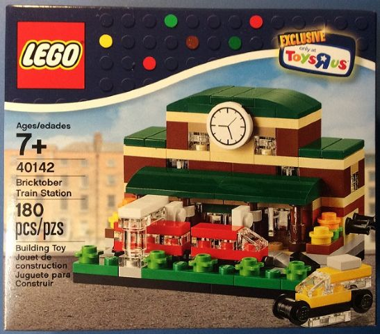 LEGO Toys R' Us Bricktober Exclusive Train Station set 40142