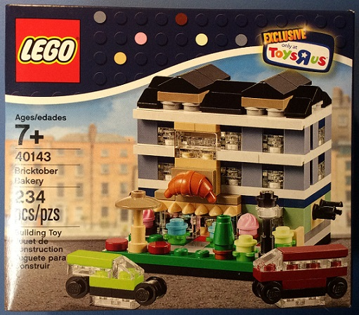 LEGO Toys R' Us Bricktober Exclusive Bakery set 40143