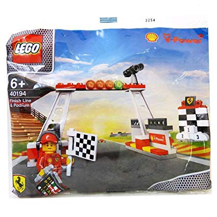 LEGO-Polybag-Exclusive-Shell-V-Power-Collection-Ferrari-Finish-Line-&-Podium-set-40194-sold-by-Brick-Loot
