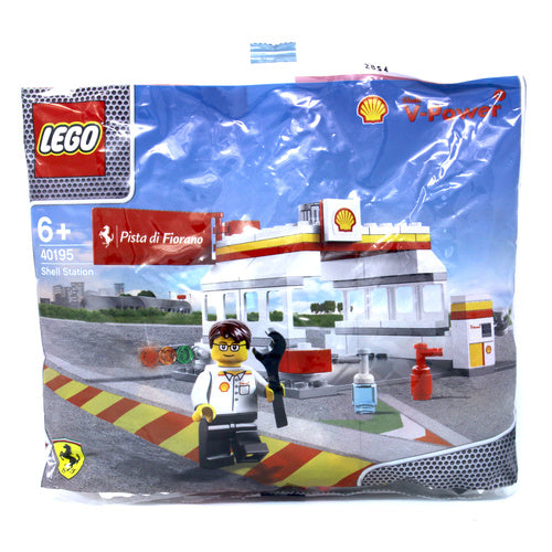 LEGO Polybag - Exclusive Shell V-Power Collection Ferrari Shell Station set 40195