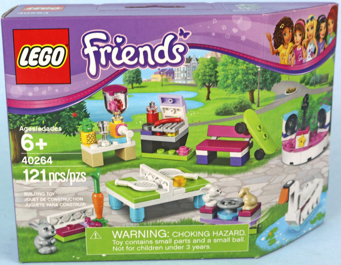 LEGO Friends Build My Heartlake City Accessory Set 40264
