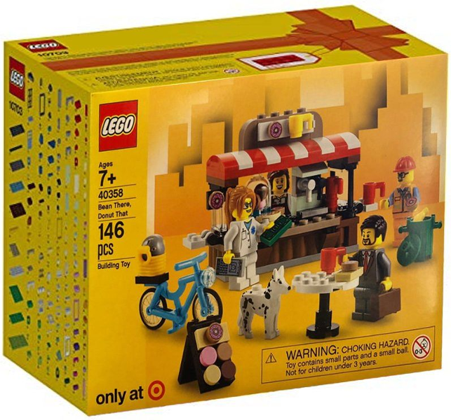 LEGO Promotional Set Bean There, Donut That set 40358