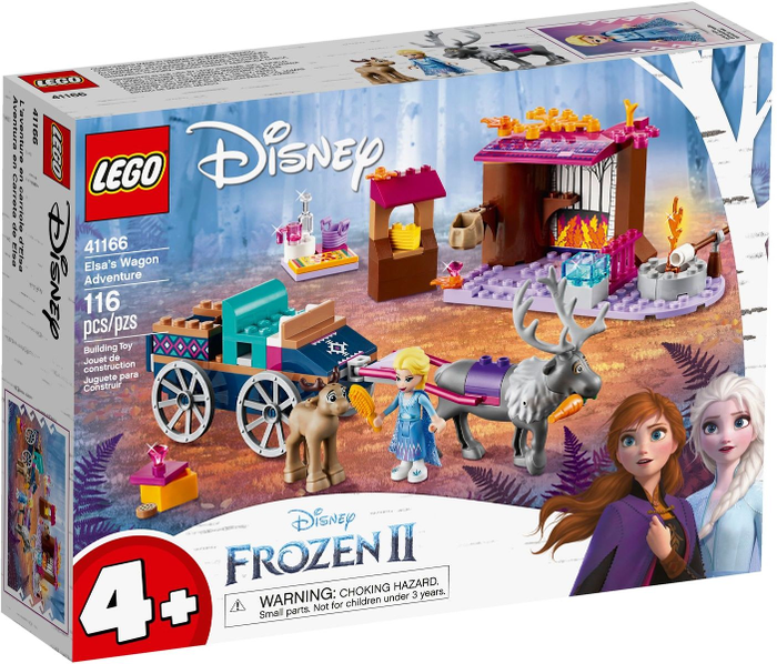 LEGO Disney: Frozen II: Elsa's Wagon Adventure set 41166