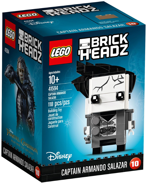 LEGO BrickHeadz: Pirates of the Caribbean: Captain Armando Salazar set 41594