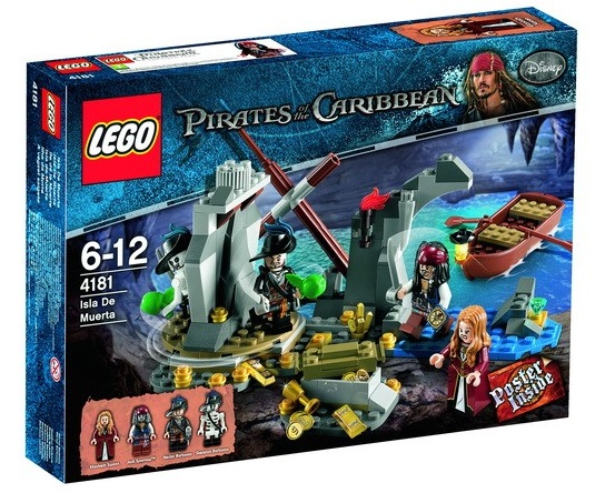 LEGO Pirates of the Caribbean: Isla De Muerta set 4181