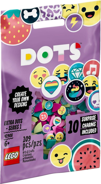 LEGO Polybag - Dots: Extra Dots - Series 1 41908