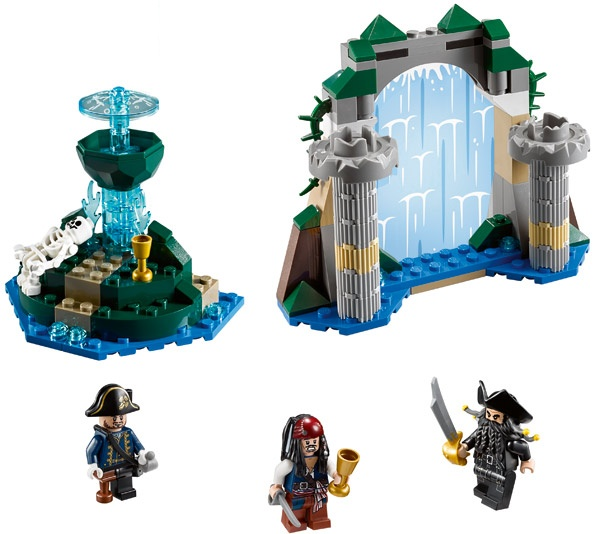 LEGO Pirates of the Caribbean: Fountain of Youth 4192 - CEO Parker's LEGO Collection - Used LEGO Complete