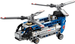 LEGO Technic: Model: Airport: Twin-rotor Helicopter 42020 - CEO Parker's LEGO Collection - Used LEGO Complete