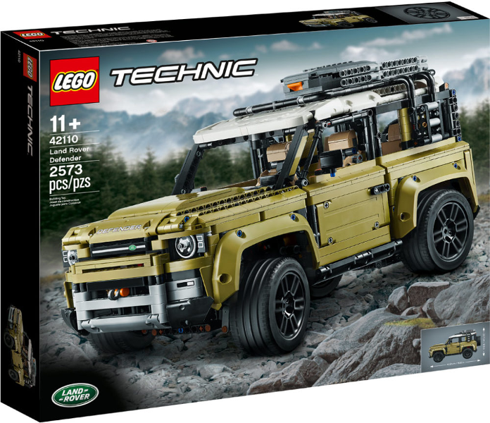 LEGO Technic Land Rover Defender set 42110