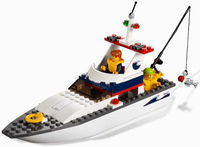 LEGO City Harbor Fishing Boat 4642 - CEO Parker's LEGO Collection - Used LEGO Complete